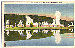 Upper Geyser Basin Yellowstone National Park WY p24202 (Image1)