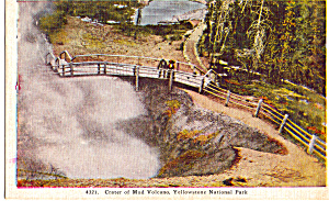 Crater of Mud Volcano, Yellowstone National Park (Image1)