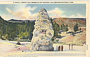 Liberty Cap  Yellowstone National Park WY p24215 (Image1)