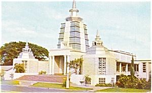 Honolulu HI Buddhist Temple Postcard p2427 (Image1)