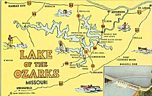 Map of Lake of the Ozarks, Missouri (Image1)