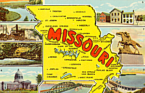 State Map of Missouri p24311 (Image1)