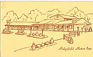 Ridgefield Motor Inn, (Image1)