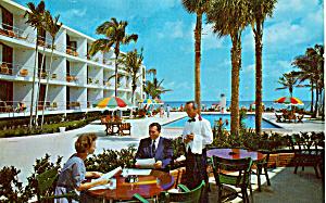 Beautiful Motel in Florida Postcard p24324 (Image1)