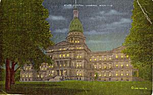 State Capitol, Lansing, Michigan (Image1)