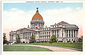 State Capitol, Jackson, Mississippi
