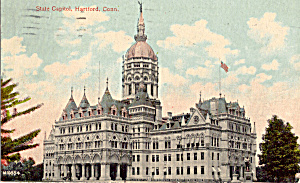 State Capitol, Hartford, Connecticut (Image1)