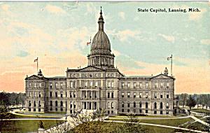 State Capitol  Lansing Michigan p24407 (Image1)