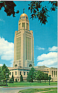 State Capitol, Lincoln, Nebraska Union Pacific (Image1)