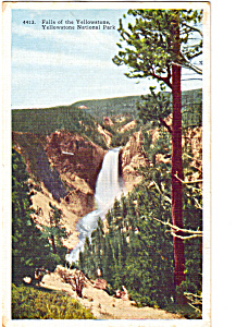 Falls Of The Yellowstone,yellowstone National Park