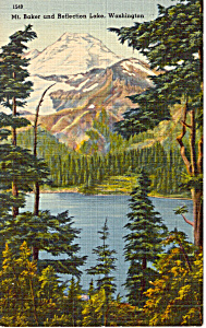 Mt Baker and Reflection Lake WA p24488 (Image1)