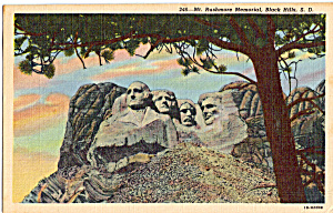 Mt Rushmore National Memorial Sd P24489