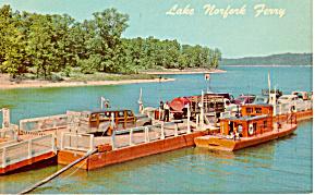 Lake Norfolk Ferry Missouri Woodie Wagon Aboard p24540 (Image1)