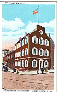 City Hall  Lancaster  Pennsylvania p24560 (Image1)