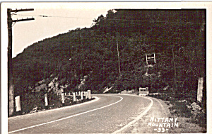 Nittany Mountain Centre County PA Postcard p24573 (Image1)