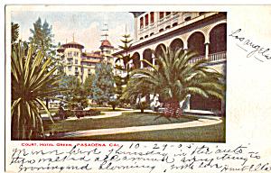 Court Hotel Green Pasadena California p24582 (Image1)