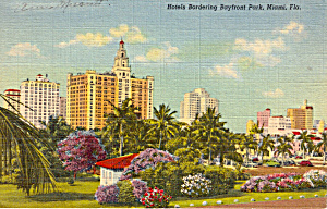 Hotels Bordering Bayfront Park Miami Florida P24604