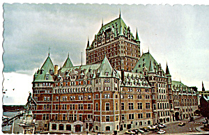 Chateau Frontenac Quebec Canada P24610