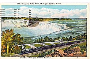 Niagara Falls From Michigan Central Train p24634 (Image1)