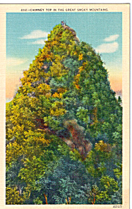 Chimney Top in the Great Smoky Mountains (Image1)