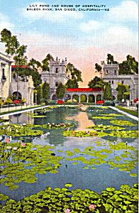 Lily Pond, Balboa Park,San Diego (Image1)