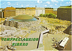 Helsinki Finland Church Postcard p2472 (Image1)
