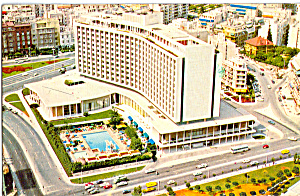 The Athens Hilton Postcard P24730