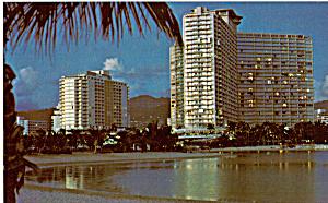 The Ilikai Waikiki Hawaii Postcard p24744 (Image1)
