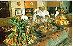 Taverna Ta Nissia Athens Hilton Postcard p24745 (Image1)