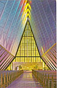 Interior Cadet Chapel  US Air Force Academy p24747 (Image1)