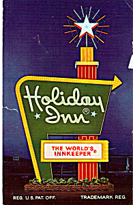 Holiday Inn Kingsport Tennessee Postcard P24749