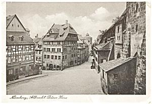 Nurnberg Germany Albrecht Durer House Postcard p2476 (Image1)