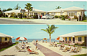 Silver Sands Apartment Motel Indian Rocks Beach Fl P24777