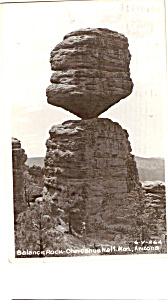 Balance Rock, Chiricahua National Monument RPPC (Image1)