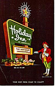 Holday Inn Card  Taylor Township Michigan p24798 (Image1)