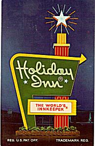Holday Inn Card Bedford Pennsylvania p24799 (Image1)