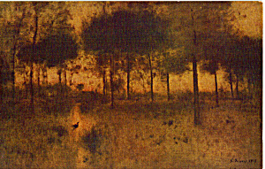 The Home of the Heron George Inness Postcard p24854 (Image1)