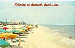 Beach Scene, Rehoboth Beach,Delaware (Image1)