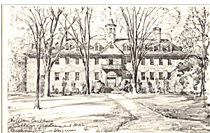 Wren Building, Williamsburg, St George Tucker House (Image1)