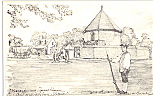Magazine and Guardhouse, Williamsburg, Virginia (Image1)
