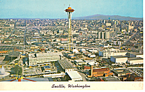 Aerial View of Seattle, Washington (Image1)