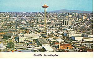 Aerial View of Seattle Washington p24928 (Image1)