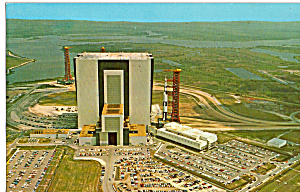Vertical Assembly Building And Apollo Saturn Vehicle P24935