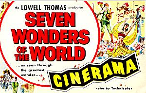Lowell Thomas Seven Wonders of the World Cinerama p24981 (Image1)