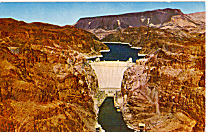 Hoover Dam Postcard p24986 (Image1)