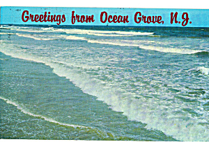 Surf Scene, Ocean Grove, New Jersey (Image1)
