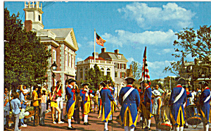 Liberty Square and Drum Corps Walt Disney World   p25047 (Image1)