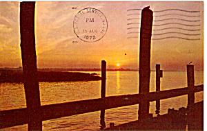 Sunset on a Lake Scene p25064 (Image1)