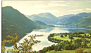 Ullswater Old Lakeland Dialect Souvenir Postcard (Image1)