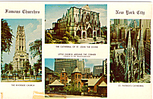 Four Churches of New York City p25076 (Image1)